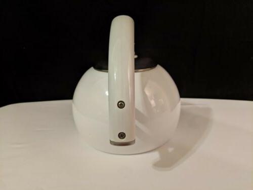 Copco White Tea Kettle Lid Read Description