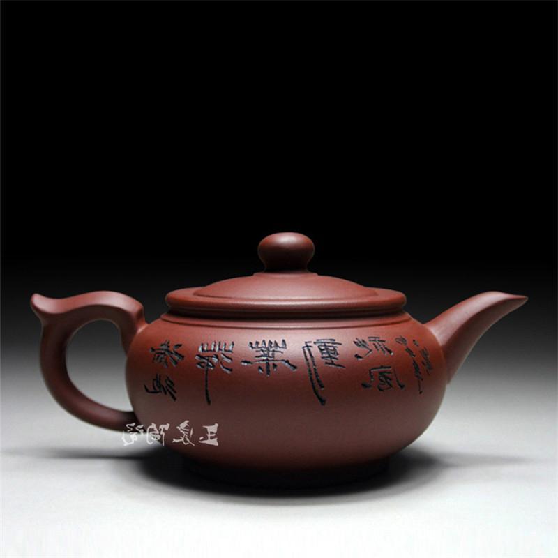 Zisha Yixing Zisha <font><b>Tea</b></font> Pot 400ml Handmade Teapots <font><b>Ceramic</b></font> Chinese <font><b>Ceramic</b></font> Clay <font><b>Kettle</b></font> Gift Packaging