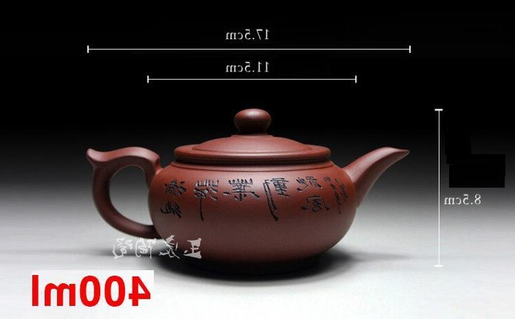 Zisha Yixing Zisha <font><b>Tea</b></font> Pot Handmade Kung Set Teapots <font><b>Ceramic</b></font> Clay Gift Safe Packaging