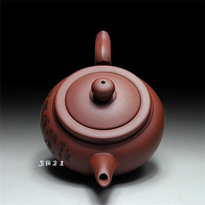 Zisha <font><b>Tea</b></font> Pot 400ml Handmade Kung Fu Teapots Chinese Clay <font><b>Kettle</b></font> Packaging