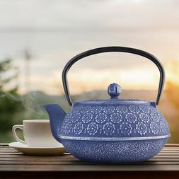 Japanese Cast Iron Teapot With Infuser |Temperature Retainin