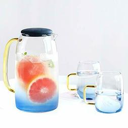 LUCKY-GO Hot/Cold Water Pitcher , Juice and Iced Tea Beverag
