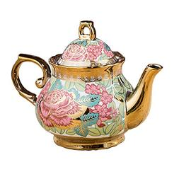 Luxury European style Ceramic Tea Pot Coffee Pot Beautiful o
