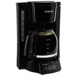 Coffee maker / tea kettle black MR COFFEE BVMCAMX22 Programm