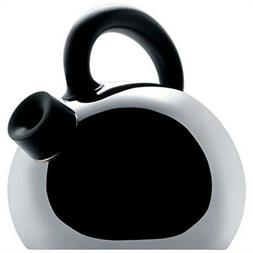 """Alessi SG65 """"Mami"""" Stainless Steel Water Kettle, Black Handl"""