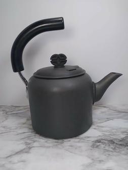 Calphalon Metal Tea Pot Kettle Made In Ireland Anodized 2 QT