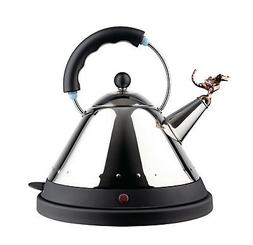 Alessi - MG32REXBUK - Tea Rex Electric kettle - Black Handle