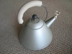Michael Graves Alessi Bird Tea Kettle 9093 GO Gold Titanium