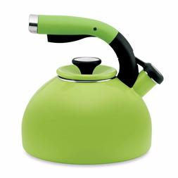 2-qt. Morning Bird Tea Kettle - Color: Kiwi Green