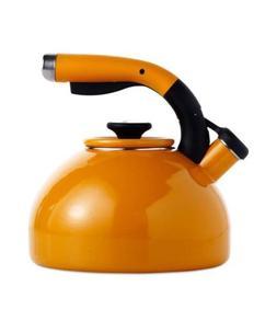 morning bird whistling tea kettle 2 qt