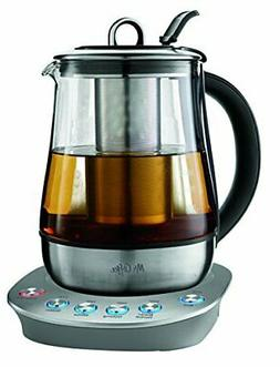 Mr. Coffee BVMC-HTKSS200 Hot Tea Maker and Kettle, Stainless