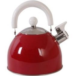 Mr. Coffee Colorcraze 1.5 qt. Tea Kettle Red