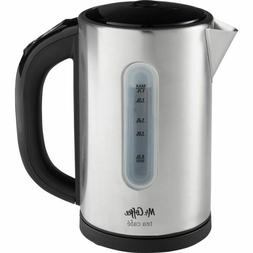 Mr. Coffee Digital Electric Kettle-Stainless Steel 1.7 Liter