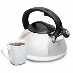 MR COFFEE HARPWELL 2 QUART WHISTLING TEA COFFEE KETTLE STAIN