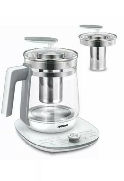 multi use electric glass kettle tea maker
