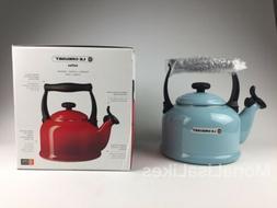NEW LE CREUSET 2.1 L / 2.2 Qt Classic Whistling Tea Kettle S
