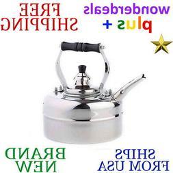 *New* OLD DUTCH INTERNATIONAL 3 qt. Windsor WHISTLING TEA KE