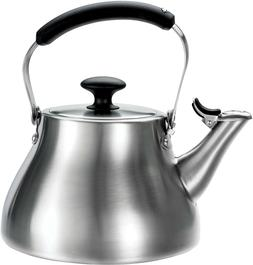 New Durable BREW Classic Tea Kettle with Silicone Handle for