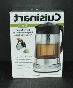 NEW OPEN BOX Cuisinart TEA-100C PerfecTemp 2-IN-1 Tea Steepe