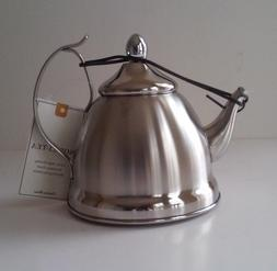 Creative Home Nobili-Tea 1-qt Stainless Steel Tea Kettle wit