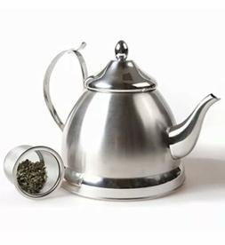Creative Home Nobili Tea Stainless Steel Tea Kettle With Rem