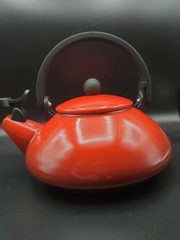 NWOB Le Creuset Enamel On Steel 1.6 Qt. Zen Tea Kettle Color