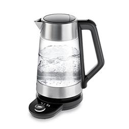 OXO On Cordless Glass Adjustable Temperature Electric Kettle
