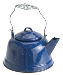 GSI Outdoors Enamelware Tea Kettle, Blue