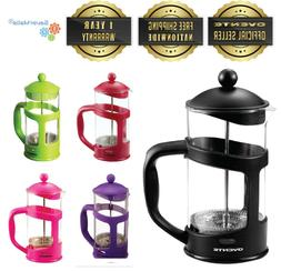 Ovente French Press, Coffee and Tea Maker with Stainless Ste