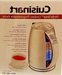 Cuisinart PerfecTemp 1500 Watt Cordless Programmable Kettle