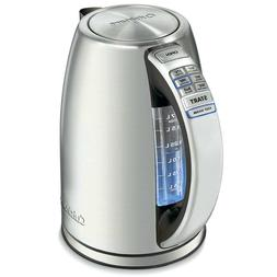 perfectemp cordless programmable kettle new silver 1