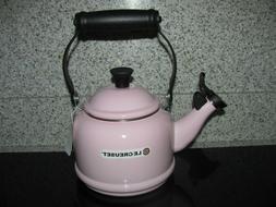 Le Creuset Pink Demi Tea Kettle 1-1/4 Qt. New.  No Box