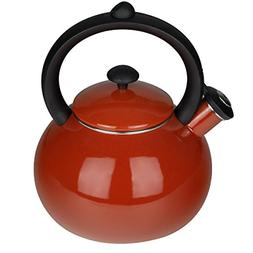 Porcelain Enameled Tea Kettles Whistling Kettle for Stovetop
