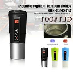 ShepoIseven Portable Intelligent Car Auto Heating Cup Adjust