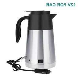 Fdit Car Truck Kettle Portable Stainless Steel Travel Mug Bo