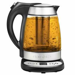 programmable electric glass kettle fast boiling water