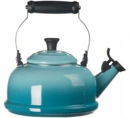 Le Creuset Q3101-17 Enamel-on-Steel Whistling 1-4/5-Quart Te