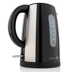 Odette Fast Boil 7 Cup  BPA-Free Cordless Black Electric Ket