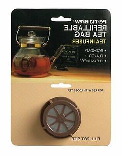 Perma Brew Refillable Loose Leaf Tea Strainer Full Pot Tea K