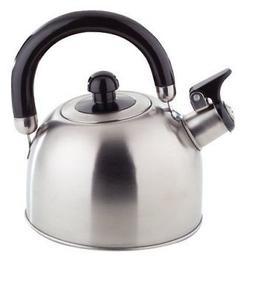 ROYAL TEA KETTLE - 2 Liter STAINLESS STEEL Stovetop Whistlin