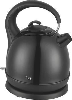 SPT Stainless Cordless Electric Kettle, Black
