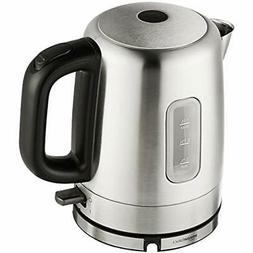 Stainless Steel Electric Kettle 1 Liter Pot Boiler Cordless