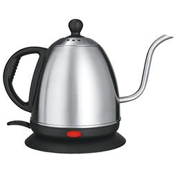 Stainless Steel Electric Kettle, Gooseneck Kettle For Pour O