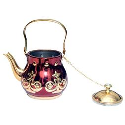 Kuber Industries Stainless steel Gold finish/Tea Pot/Serving