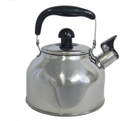 Stainless Steel Large 4.5 Liter Quart Whistling Tea kettle P
