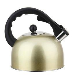 Stainless Steel Stovetop Tea Kettle 3L With Handle, Inductio
