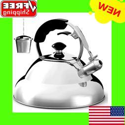 Stainless Steel Tea Kettle, Tea Maker Infuser Included, Sing
