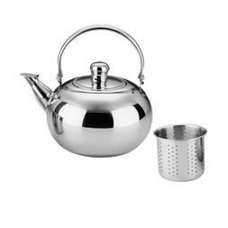 Stainless Steel Tea Kettle Teapot Indoor Outdoor Induction S