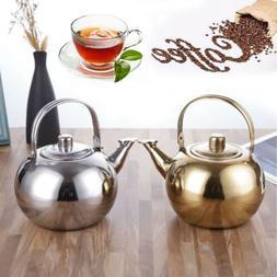 Stainless Steel Tea Kettle Teapot Outdoor Indoor Induction S