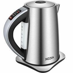 Aicok Electric 1.7L Kettle Variable Temperature Tea Kettle S